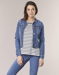 Abbigliamento Donna Giacche in jeans Noisy May NMDEBRA Blu / Medium