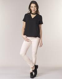Abbigliamento Donna Pantaloni 5 tasche Noisy May NMLUCY Rosa