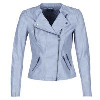 Abbigliamento Donna Giacca in cuoio / simil cuoio Only AVA Blu