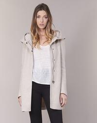 Abbigliamento Donna Cappotti Only SEDONA Beige