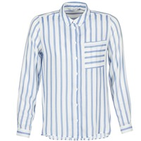 Abbigliamento Donna Camicie Only CANDY Bianco / Blu