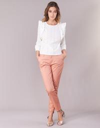 Abbigliamento Donna Chino Only PARIS Rosa