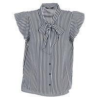 Abbigliamento Donna Top / Blusa Only ELENA Nero / Bianco
