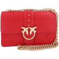 Borse Donna Tracolle Pinko. Bag Pinko love imprime 1P214CY4K2R20<BR/>new collection spring summe Rosso