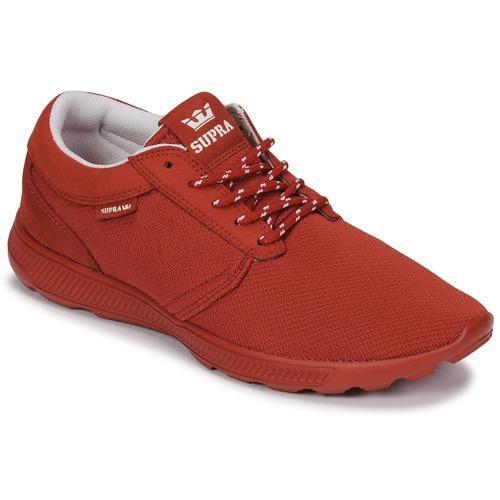 Supra HAMMER Sneakers RUN Rosso  Scarpe Sneakers HAMMER basse  70 d30bf4