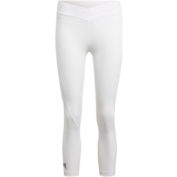 Abbigliamento Donna Leggings adidas Performance Tight 3/4 Alphaskin Tech Bianca