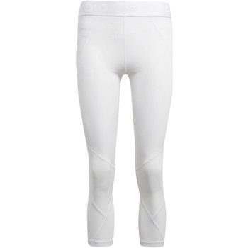 Abbigliamento Donna Leggings adidas Performance Tight 3/4 Alphaskin Sport Bianca