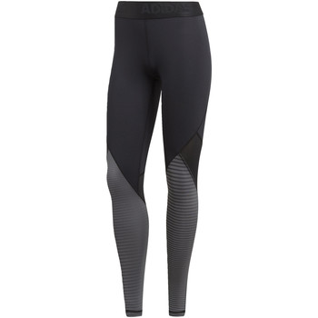 Abbigliamento Donna Leggings adidas Performance Tight lunghi Alphaskin Sport Printed Nero