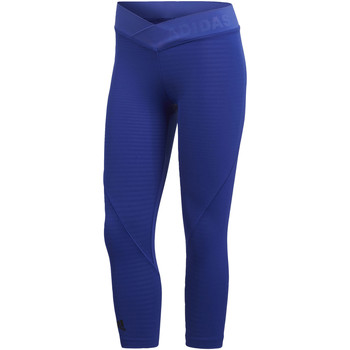 Abbigliamento Donna Leggings adidas Performance Tight 3/4 Alphaskin Tech blue