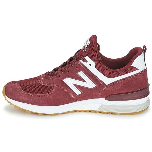 5450 Gratuita Ms574 Consegna Sneakers New Uomo Balance Basse Bordeaux Scarpe eH9IYEWD2