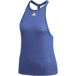 Abbigliamento Donna Top / T-shirt senza maniche adidas Performance Canotta Melbourne Burnout blue