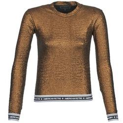 Abbigliamento Donna T-shirts a maniche lunghe American Retro ALLAN Mordore