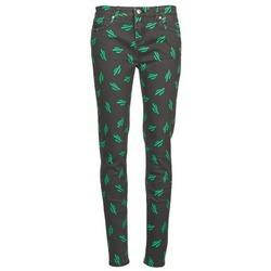 Abbigliamento Donna Jeans slim American Retro TINA Nero / Verde