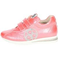 Scarpe Unisex bambino Sneakers basse Florens E2330 CORALLO