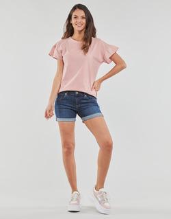 Abbigliamento Donna Shorts / Bermuda Yurban INYUTE Blu / Scuro