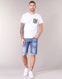 Abbigliamento Uomo Shorts / Bermuda Yurban IXOLAK Blu / Clair