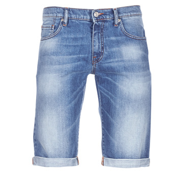 Abbigliamento Uomo Shorts / Bermuda Casual Attitude IXOLAK Blu / Clair