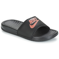 Scarpe Donna ciabatte Nike BENASSI JUST DO IT W Nero / Oro
