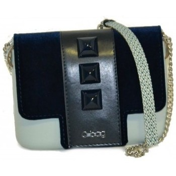 Borse Donna Borse a mano O Bag Borsetta O pocket pattina in velluto con borchie blu Altri