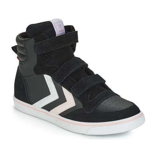 Nero Consegna Stadil 3500 Sneakers Scarpe Jr Hummel Bambino Gratuita Leather Alte 8wPX0nNOk