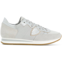 Scarpe Donna Sneakers basse Philippe Model Paris PHILIPPE MODEL SNEAKERS DONNA TRLDW003          ARGENTO/BIANCO