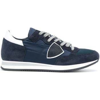 Scarpe Uomo Sneakers basse Philippe Model Paris PHILIPPE MODEL SNEAKERS UOMO TRLU1111          BLU