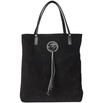 Borse Donna Tote bag / Borsa shopping Borbonese BORBONESE BORSA SHOPPING DONNA 954815J25100  NERO