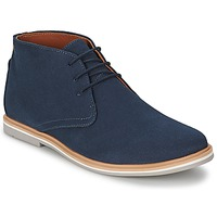 Scarpe Uomo Stivaletti Frank Wright BARROW NAVY / Canvas
