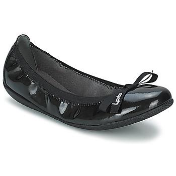 Scarpe Donna Ballerine LPB Shoes ELLA VERNIS Nero