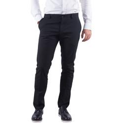 Abbigliamento Uomo Chino Selected Pantaloni slim fit da uomo New One Mylologan 16051390 Nero