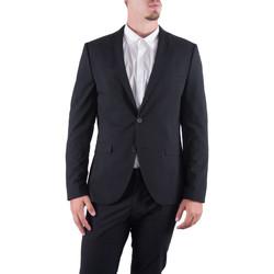 Abbigliamento Uomo Giacche da completo Selected Giacca blazer uomo slim fit New One Mylologan 16051232 Nero