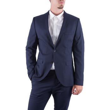 Abbigliamento Uomo Giacche da completo Selected Giacca blazer uomo blu slim fit New One Mylologan 16051230 Blu