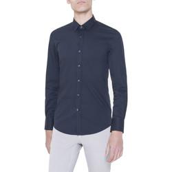 Abbigliamento Uomo Camicie maniche lunghe Antony Morato MMSL00375/FA450001 Blu