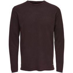 Abbigliamento Uomo Maglioni Only & Sons Maglia uomo pullover Ted Crew Neck 22006790 Rosso