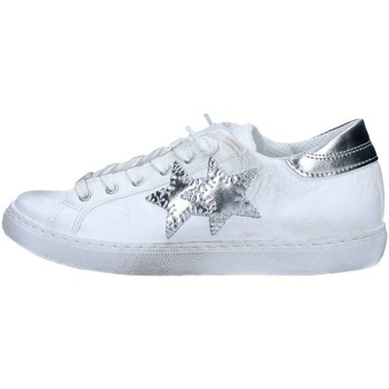 Scarpe Sneakers basse 2 Stars 2S1807 Sneakers Donna Bianco / Argento Bianco / Argento