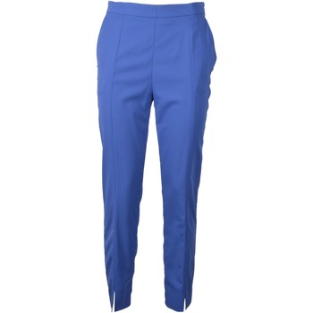 Abbigliamento Donna Chino Pinko. TROUSERS INCROCIARE BLUE 1G13366781GA2 Blu