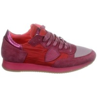 Scarpe Donna Sneakers basse Philippe Model Paris PHILIPPE MODEL SNEAKERS DONNA TRLDSR08          BORDEAUX/FUCSIA