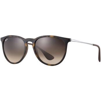 Orologi & Gioielli Uomo Occhiali da sole Ray-ban Erika Nylon Sunglasses marrone