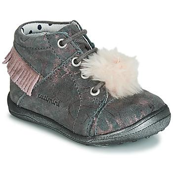 Scarpe Bambina Sneakers alte Catimini PEPITA Rosa