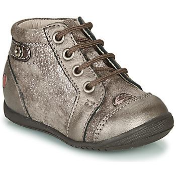 Scarpe Bambina Sneakers alte GBB NICOLE Taupe
