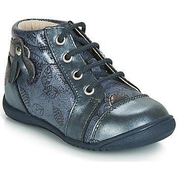 Scarpe Bambina Sneakers alte GBB NICOLE Blu