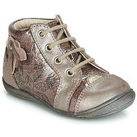 Scarpe Bambina Sneakers alte GBB NICOLE Legno / De / Rosa