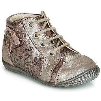 Scarpe Bambina Sneakers alte GBB NICOLE Rosa / Oro