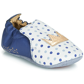 Scarpe Bambina Pantofole Catimini CHIQUETTE Blu-bianco