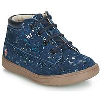 Scarpe Bambina Sneakers alte GBB NINON Marine