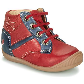 Scarpe Bambino Sneakers alte GBB RATON VTE BRIQUE-MARINE DPF/RAIZA
