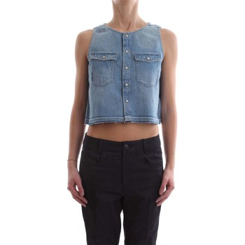 Abbigliamento Donna Top / Blusa G-Star Raw D08592 D013 CAMICIA Donna DENIM MEDIUM BLUE DENIM MEDIUM BLUE