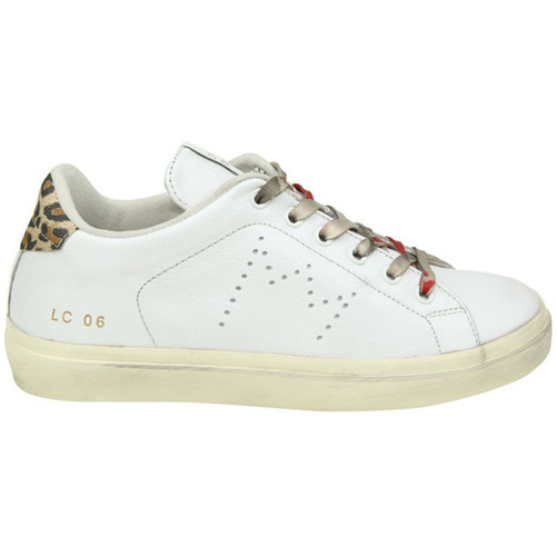 Leather Crown LEATHER CROWN SNEAKERS DONNA WLC064 BIANCO - Scarpe Sneakers basse Donna 297,00