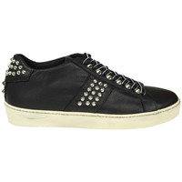 Scarpe Donna Sneakers basse Leather Crown LEATHER CROWN SNEAKERS DONNA WICONIC14          NERO