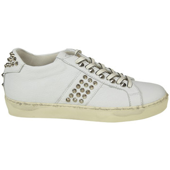 Scarpe Donna Sneakers basse Leather Crown LEATHER CROWN SNEAKERS DONNA WICONIC15          BIANCO